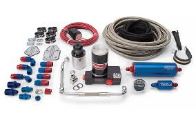 complete fuel system kits fuel management russell performance edelbrock dual feed thunder series avs carbs 641510
