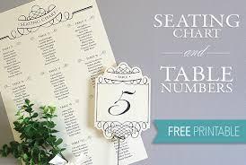 Elegant Diy Table Numbers Seating Chart