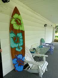 fanciful surfboard wall art 6 foot wood hawaiian decor or headboard image 0 australia surfboardwallart com uk nz diy
