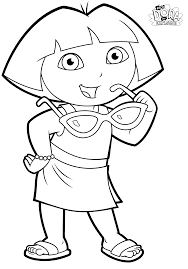 Coloring The Loud House Lola Lisa Page Prismacolor New Let Children