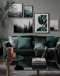 picture wall living room