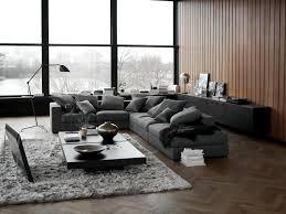 living room ideas dark grey sofa