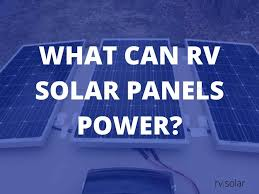 A bar style dining and kitchen area fills the mid section of the bus with a sink, refrigerator and microwave oven. What Can Rv Solar Panels Run More Than You Think Rv Solar