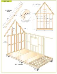 Small Picture free wood cabin plans step by step guide to building a tiny house