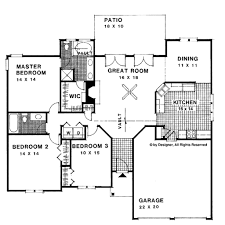 1500 sq ft ranch style house plans outstanding ranch style house plan 3 beds 2 baths