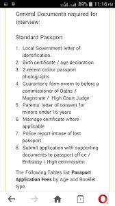 Guidelines For Obtaining An International Passport Education