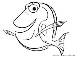 free printable fish coloring pages kid crafts at
