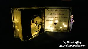 a couple weeks ago i did a tutorial on how to make a glass block nightlight my darling sister saw it and really liked it just after that i did a tutorial