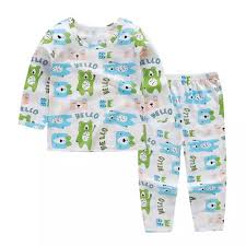 Hello Mello Lounge Pants Size Chart Cutiebaby Baby Childrens Top Bottom Underwear Set Long Sleeve Thin Pajamas Cool Shirt