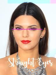 straight eyes