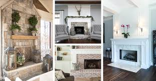 Cozy fireplaces ideas for home Rustic 32 Eyecatching Fireplace Design Ideas That Will Make You Feel Cozy Homebnc 32 Best Fireplace Design Ideas For 2019