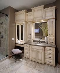 master bathroom vanity built in double vanities