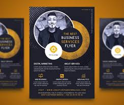 Services Flyer Professional Company Services Flyer Free Psd