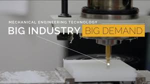 Mechanical Engineer Technologist Mechanical Engineering Technology Big Industry Big Demand