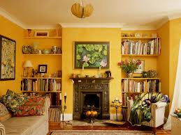 Yellow Decor For Living Room Theme Inspiration Decor Ideas In Yellow And Orange Color
