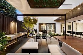 modern outdoor living melbourne. indoor outdoor house design with alfresco terrace living modern melbourne v