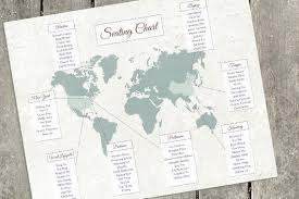 Map Seating Chart Wedding Custom Designed Seating Charts For Weddings And Any Other Event The Here And There Shop