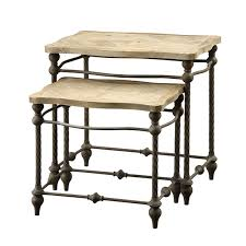 Edison Wrought Iron Side Tables