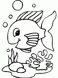 Printable Coloring Pages color pages of fish : Printable 34 Cute Fish Coloring Pages 8666 - Fish Coloring ...