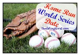 World series baseball dates