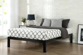 metal platform bed frame quick snap inch beds priage 1083 platform