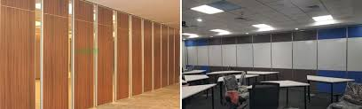 movable wall partition sliding