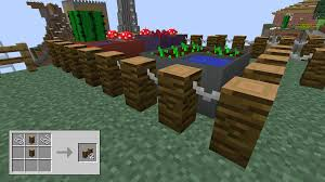 how to make a fence in minecraft. PostFence How To Make A Fence In Minecraft
