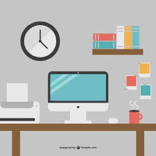 Cartoon Office Free Cartoon Desk Download Free Clip Art Free Clip Art On Clipart