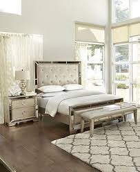 bedroom with mirrored furniture. Ailey Bedroom Furniture Collection - Mirrored Macy\u0027s With