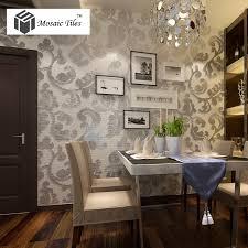 tst mosaic collages silver leaf vines pattern backsplash wall deco crystal glass mirror tiles