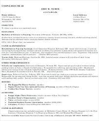Nursing Resume Objectives Nursing Resume Objective Statement Examples 85