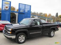 2006 Black Chevrolet Silverado 1500 Z71 Regular Cab 4x4 #20296655 ...