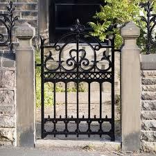 decorative garden gates. Image Of: Wrought Iron Garden Gate Decorative Gates T