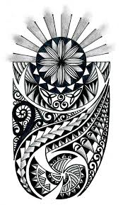 Tribal Pattern Tattoo