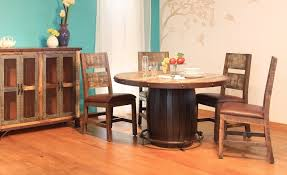 antique teal multi color dining table