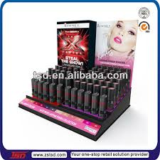 Lipstick Display Stands Tsda100 Custom Retail 100 Tiers Acrylic Lipstick Display Case 7