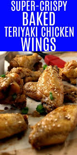 Doesn't get easier than that! Just That Close Bottled Teriyaki Wings Oven Baked Teriyaki Chicken Wings Smack Of Flavor Tender And Bursting With Flavor