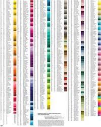 Dmc Color Chart 2017 9 Best Dmc Color Chart Images Cross Stitch Thread Cross