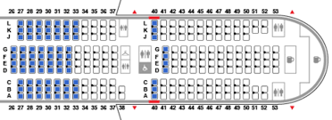 United 777 222 Seating Chart Where To Sit On Uniteds New 777 200 Economy And Economy Plus