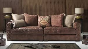 Classic and Aesthetic Maxwell Leather Sofa Design for Home Interior