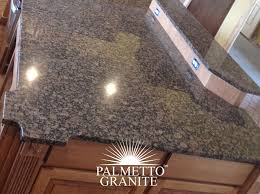 myrtle beach sc granite countertops baltic brown granite island slab with detailed corners