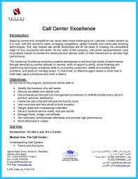 10 Call Center Resumes Sample Lycee St Louis