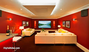 How To Decorate Media Room Interior Design  Home Entertainment Entertainment Room Design