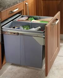 Recycle Bin Pull Out Kitchen Waste Bin 600MM