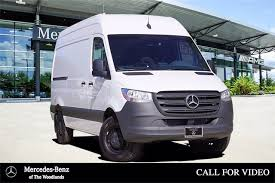 Make sure everything is off before jump starting the car. New Sprinter Cargo Van For Sale Mercedes Benz Of The Woodlands