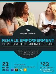 Handbill Template Free Women Church Flyer Template Word Psd Apple Pages