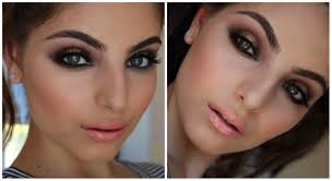 golden bronze halo smokey eye makeup tutorial