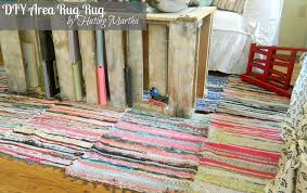 flooring ideas rag rugs sewn together make a large diy area rug