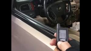 Chevy Tahoe viper alarm remote starter installed autosound two ...