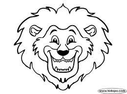 Small Picture Coloring Pages Draw A Lion Head Coolagenet